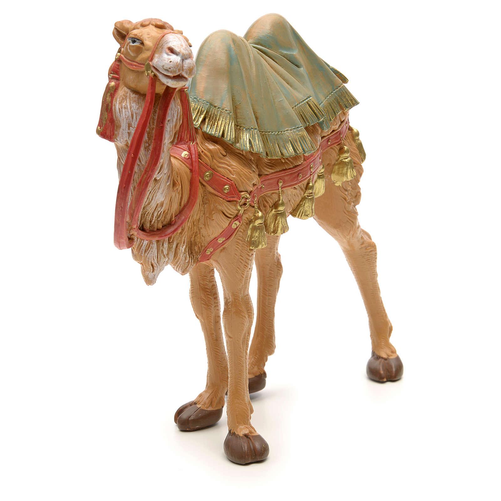 Camelo em pé para Presépio Fontanini com figuras de altura média 19 cm 4