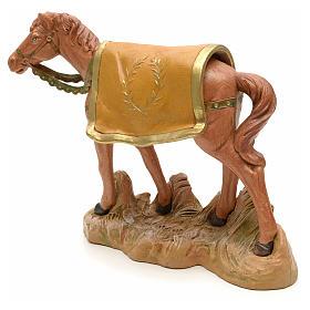 Cheval marron crèche Fontanini 19 cm s2