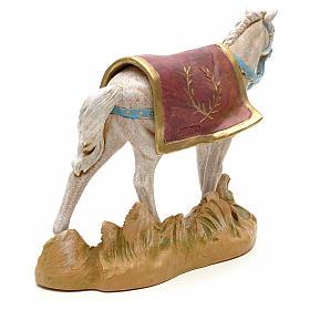 Cavallo bianco 19 cm Fontanini s3