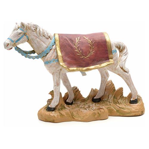 Cavallo bianco 19 cm Fontanini 1