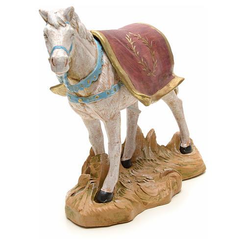 Cavallo bianco 19 cm Fontanini 4