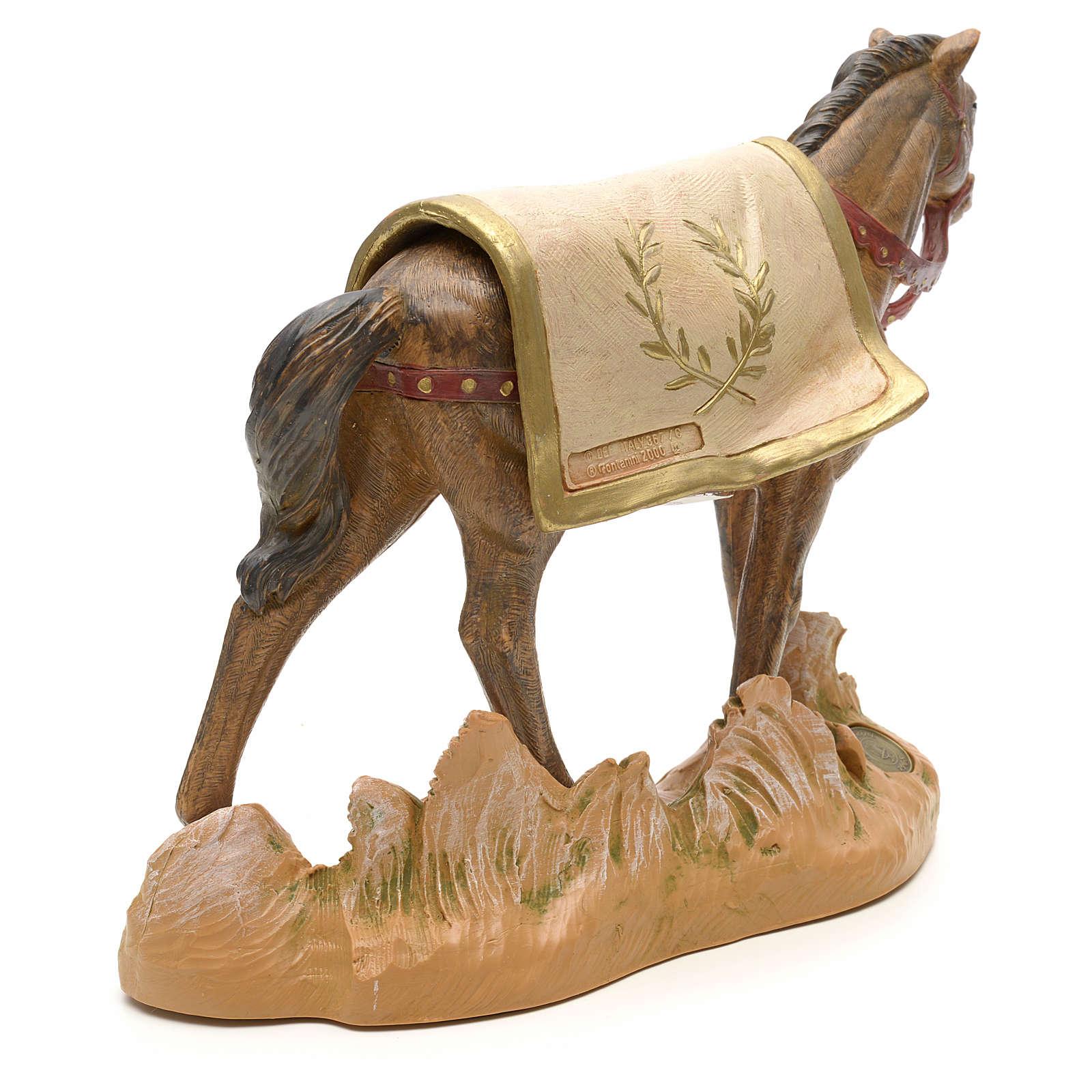 Cavallo nero 19 cm Fontanini 3
