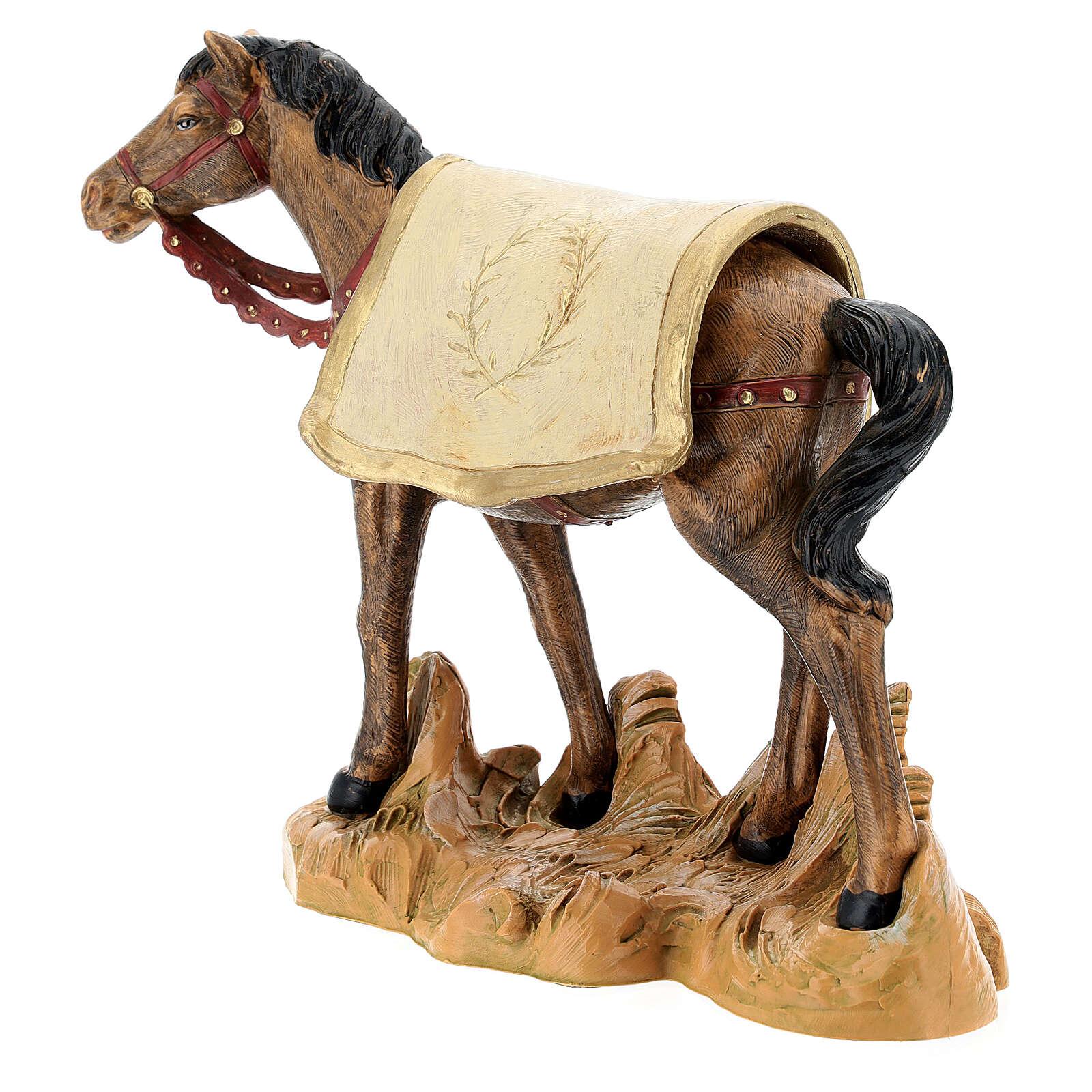 Cavallo nero 19 cm Fontanini 4