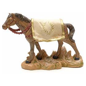 Cavallo nero 19 cm Fontanini s1