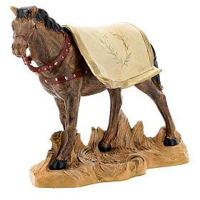 Cavallo nero 19 cm Fontanini s2