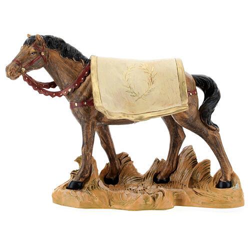 Cavallo nero 19 cm Fontanini 1