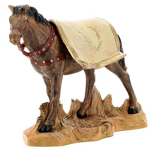 Cavallo nero 19 cm Fontanini 2