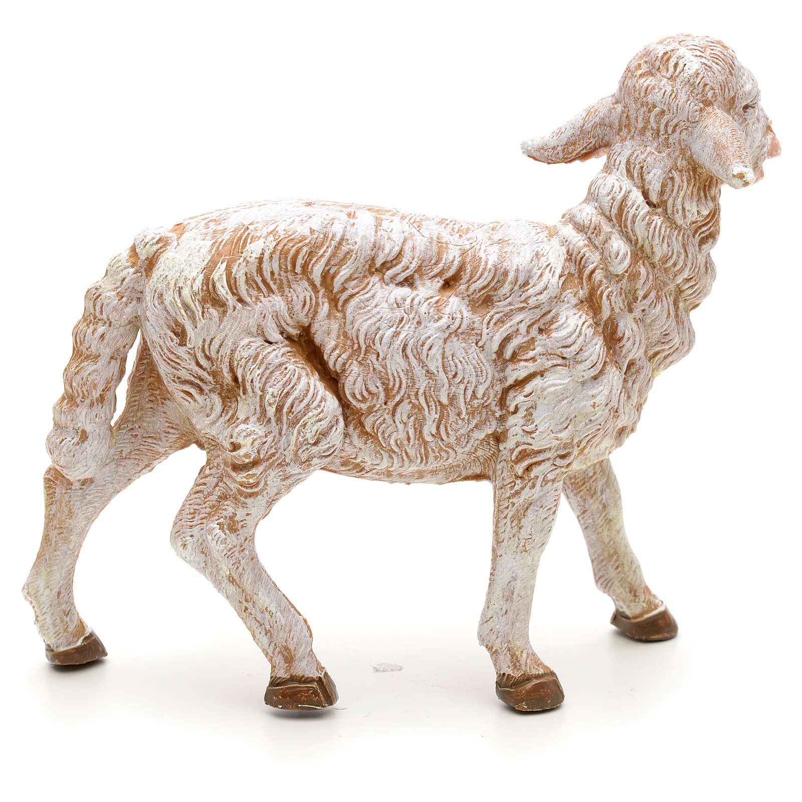 Mouton debout crèche Fontanini 30 cm 3
