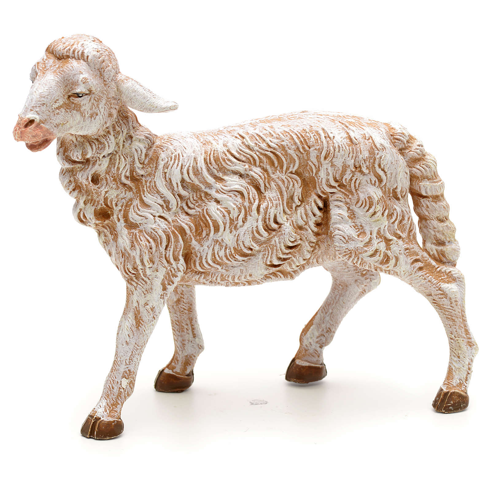 Standing sheep for nativity of 30cm, Fontanini 4