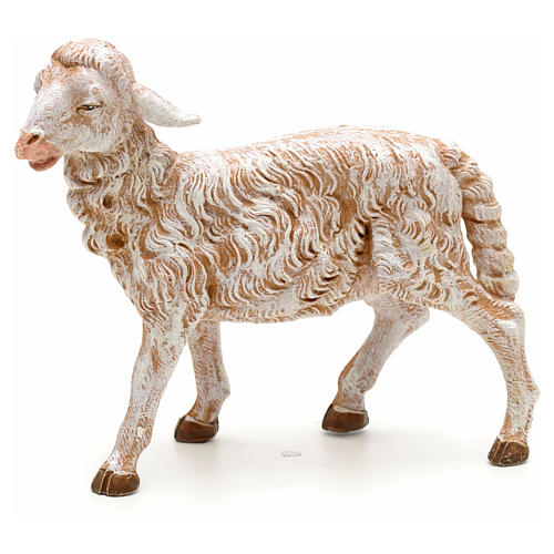 Standing sheep for nativity of 30cm, Fontanini 1