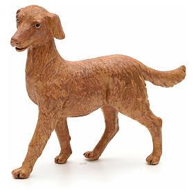 Cão em pé para Presépio Fontanini com figuras de altura média 30 cm s1