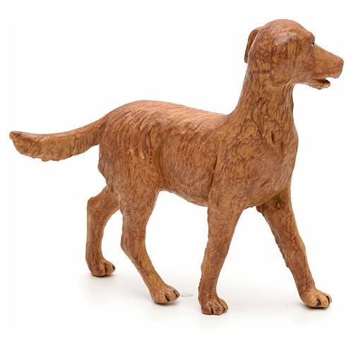 Cão em pé para Presépio Fontanini com figuras de altura média 30 cm 2