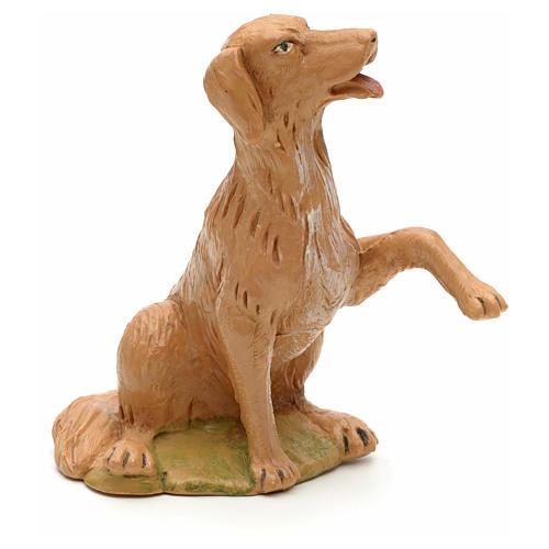 Perro sentado 30 cm Fontanini 1