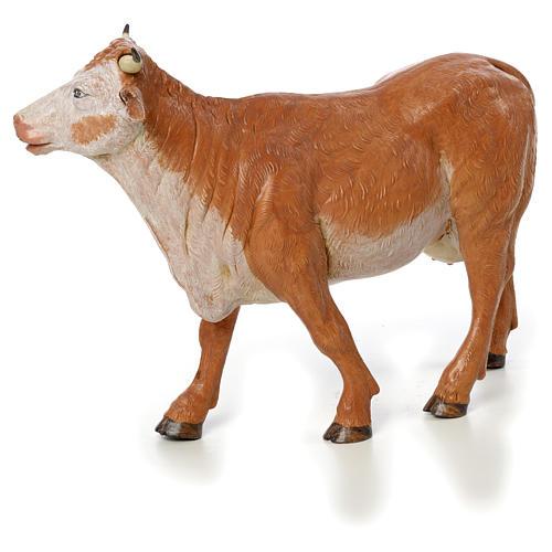 Vache debout crèche Fontanini 30 cm 1