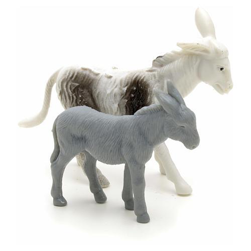 Osły dla pasterza szopka cm 6 2