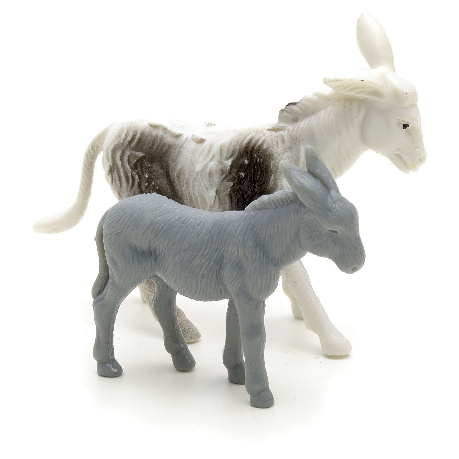Nativity figurine, donkeys for shepherd measuring 6cm 3