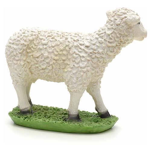 Nativity figurine, sheep in resin 24cm 2