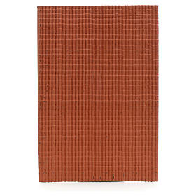 Pannello per tetto tegole piccole rosso 50x35 cm s1