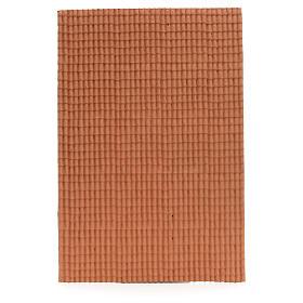 Pannello per tetto tegole color terracotta 50x35 cm s1