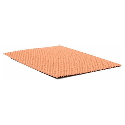 Pannello per tetto tegole color terracotta 50x35 cm 2