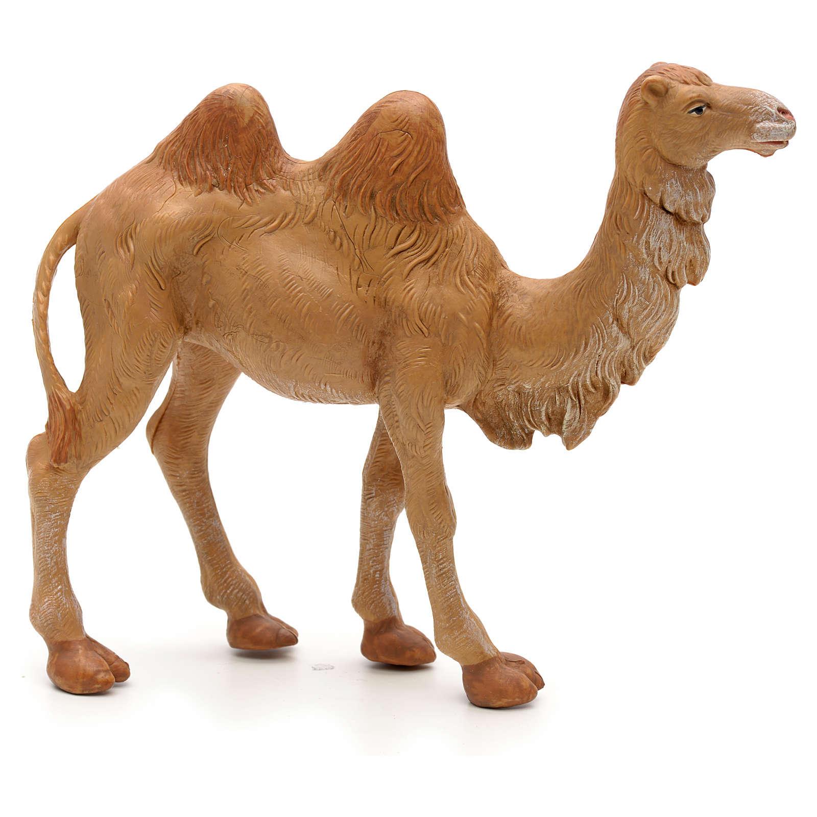 Camelo em pé para Presépio Fontanini com figuras de altura média 12 cm 3