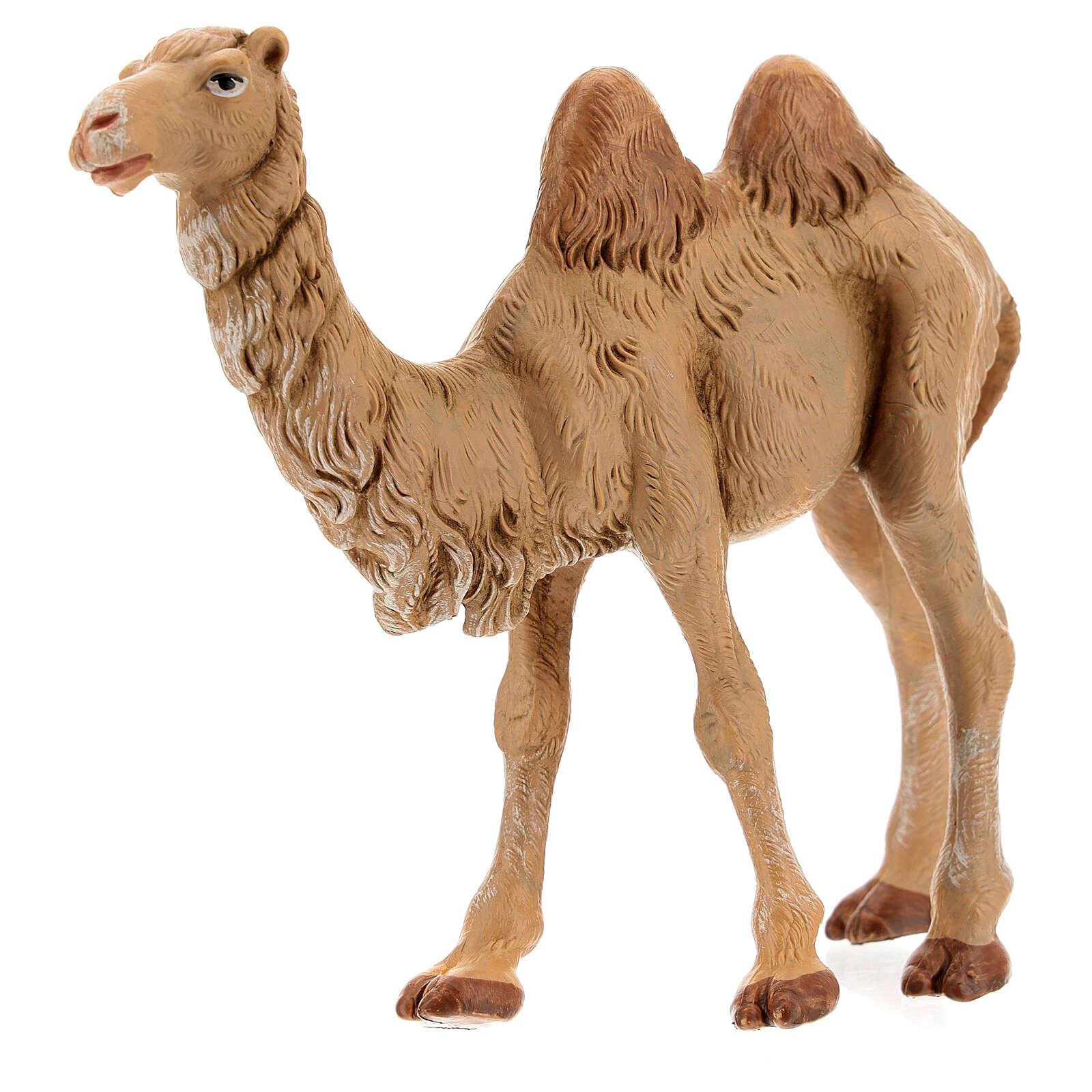 Camelo em pé para Presépio Fontanini com figuras de altura média 12 cm 4