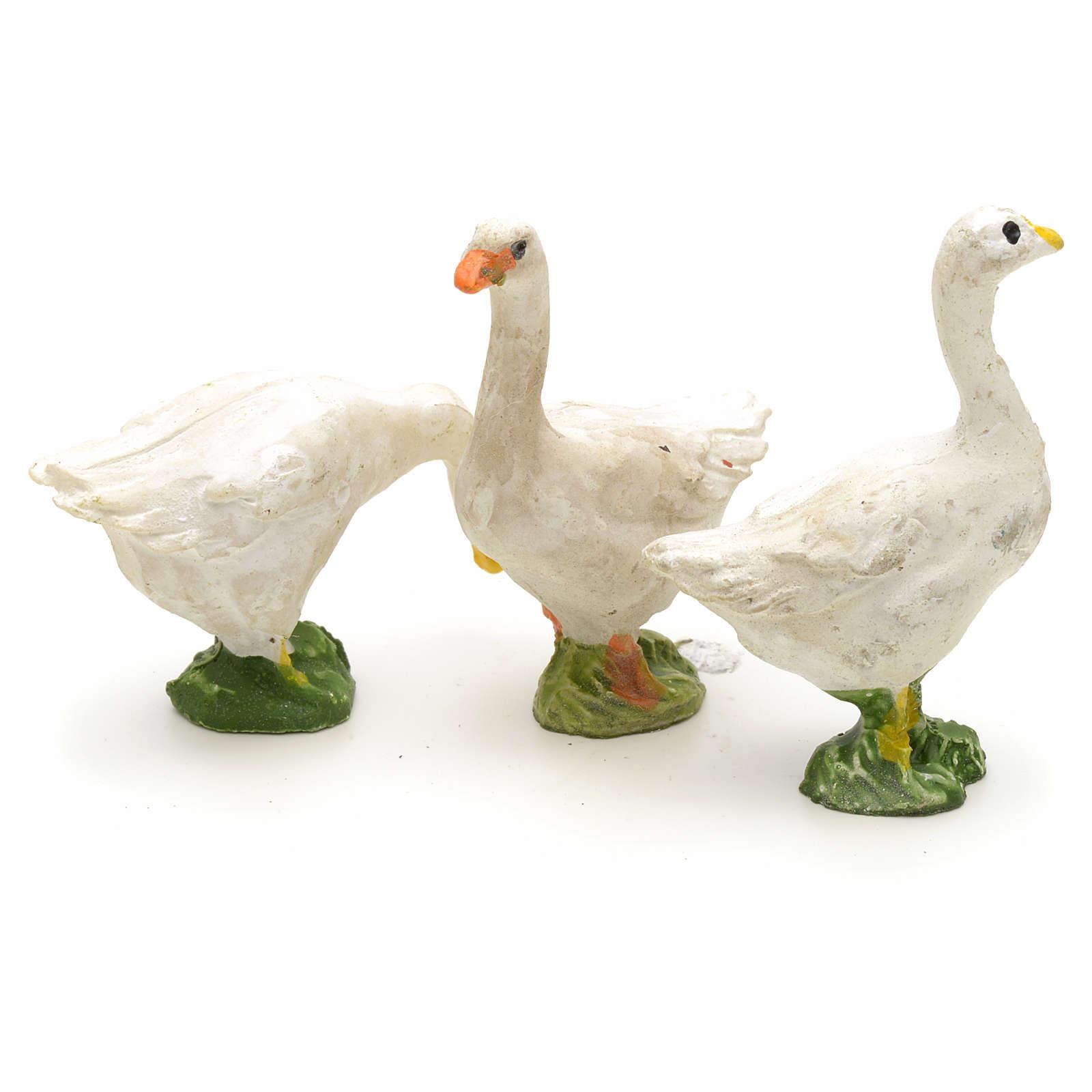 Nativity figurine, farm animals assorted 3pcs 3