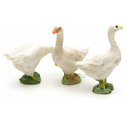 Nativity figurine, farm animals assorted 3pcs 4