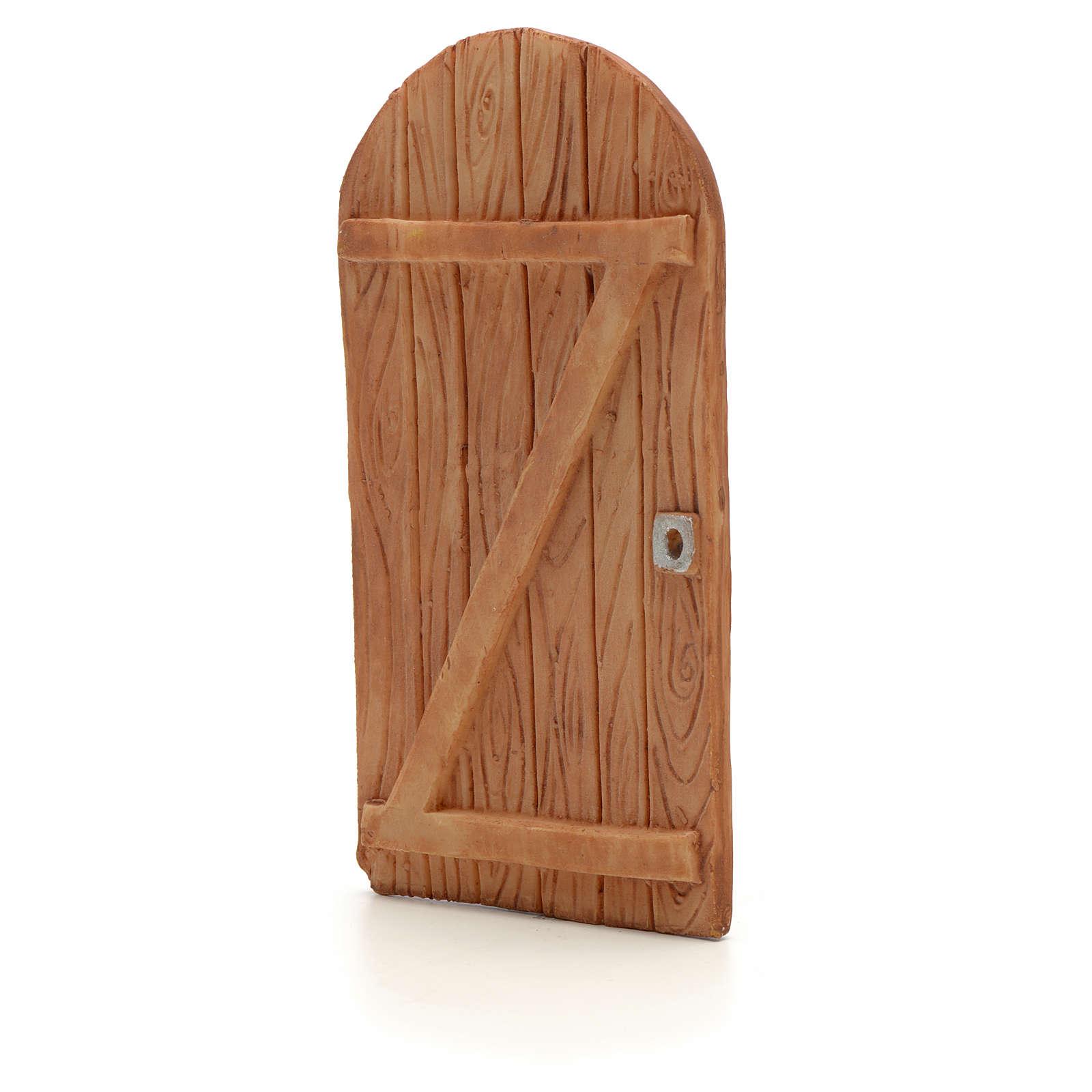 Drzwi łukowe z żywicy 11.5x5.5 cm 4