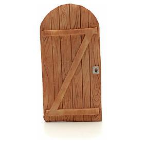 Drzwi łukowe z żywicy 11.5x5.5 cm s1