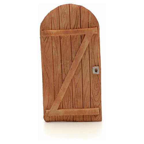 Drzwi łukowe z żywicy 11.5x5.5 cm 1