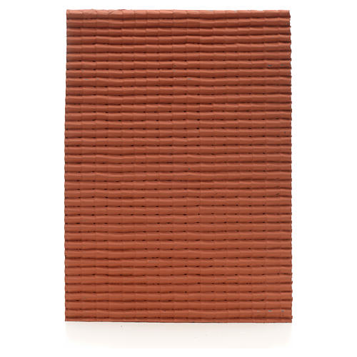 Pannello tetto color rosso 35x25 1