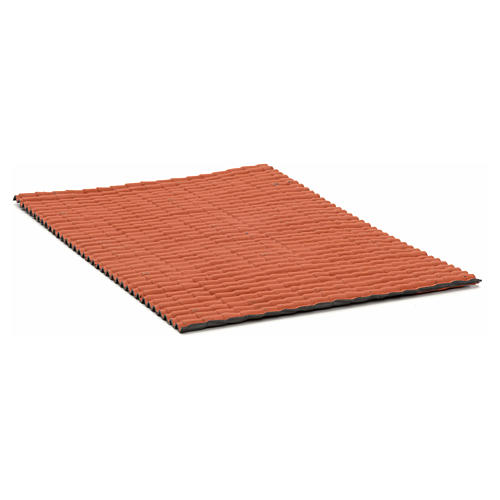 Pannello tetto color rosso 35x25 2