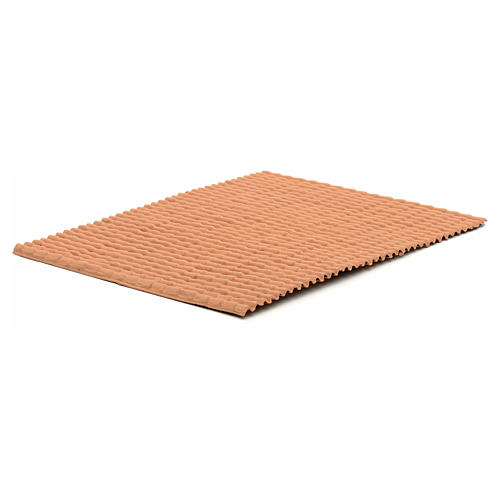Pannello tetto color terracotta 35x25 2