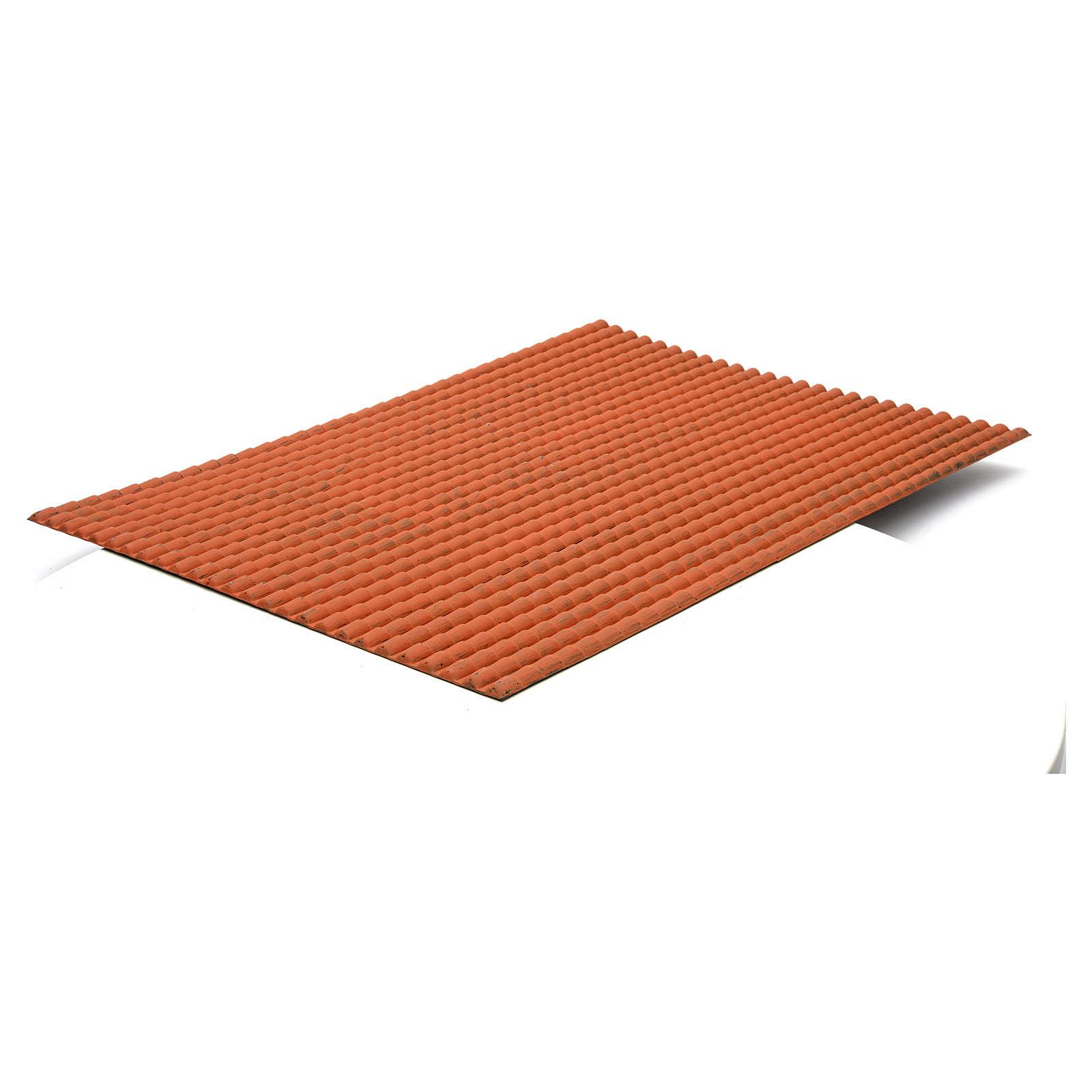 Pannello tetto presepe 70x50 cm 4