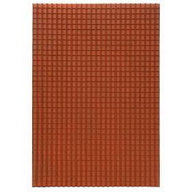 Pannello tetto presepe 70x50 cm s1