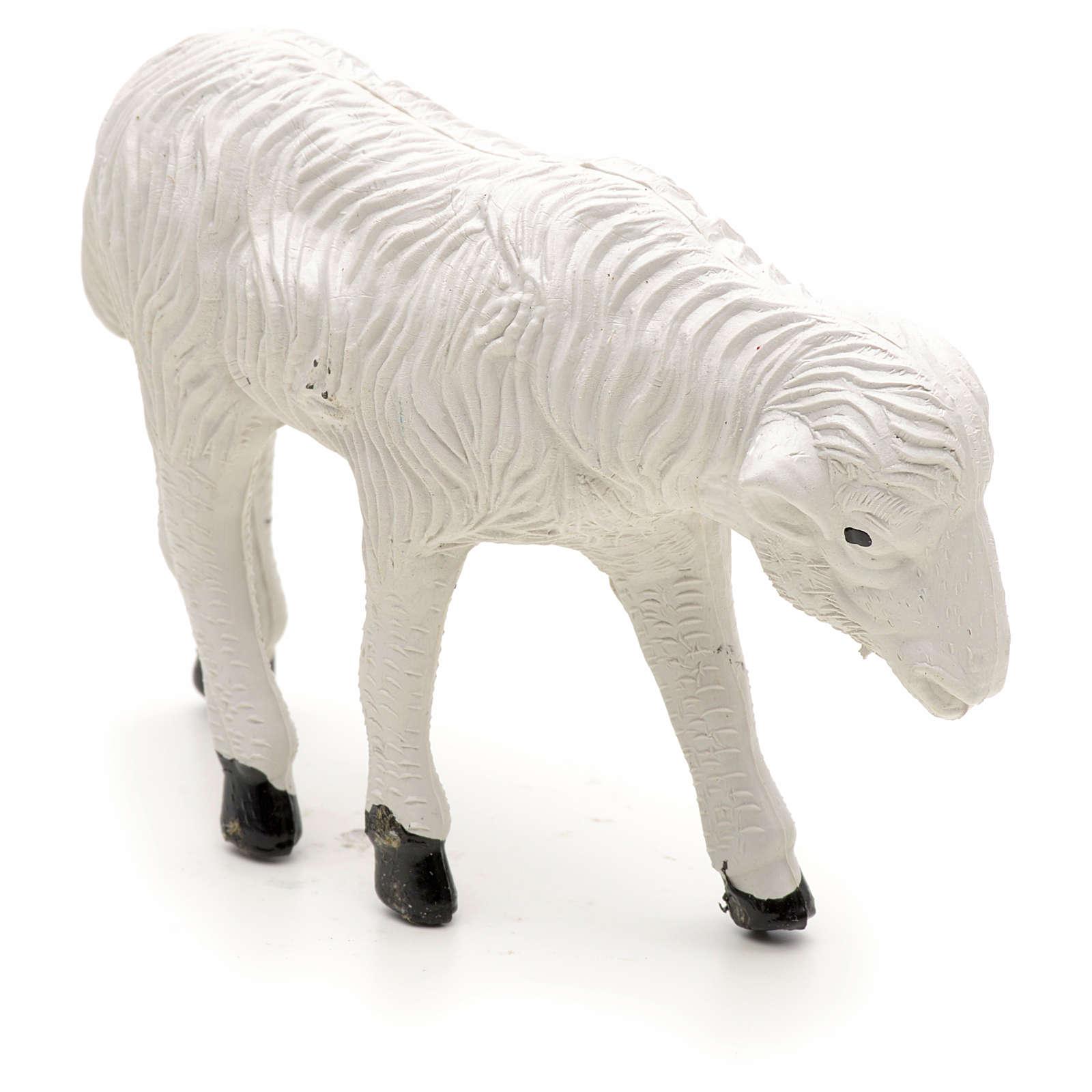 Nativity figurine, sheep measuring 9x6cm 3