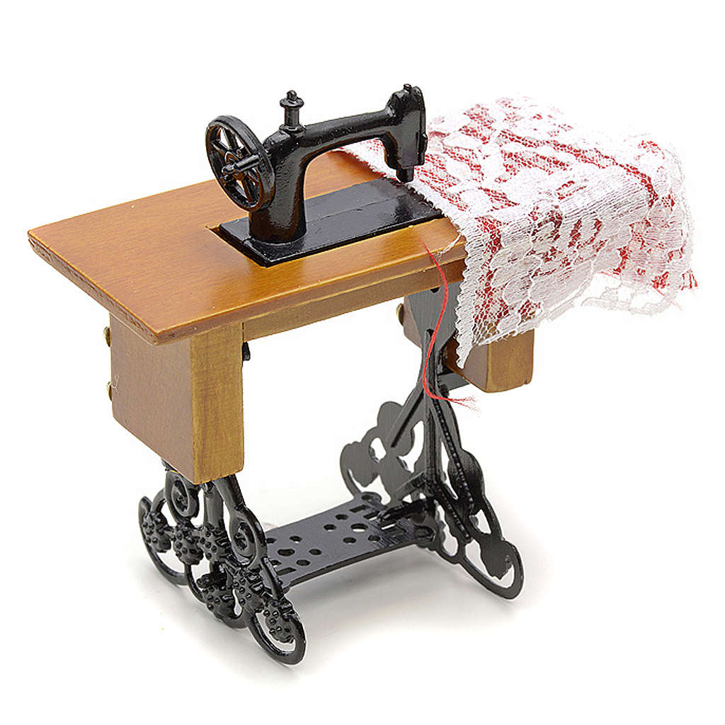 Nativity accessory, sewing machine for do-it-yourself nativities 4