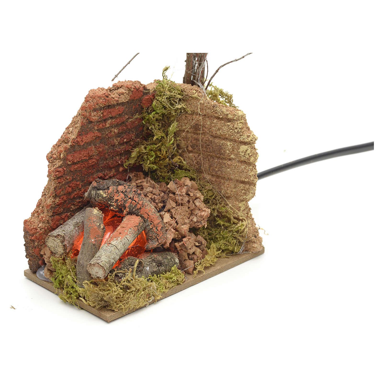 Hausse de repassage en miniature pour crèche de noel 4