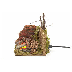 Hausse de repassage en miniature pour crèche de noel s3