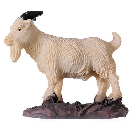 Nativity figurine, resin goat, 10-14cm