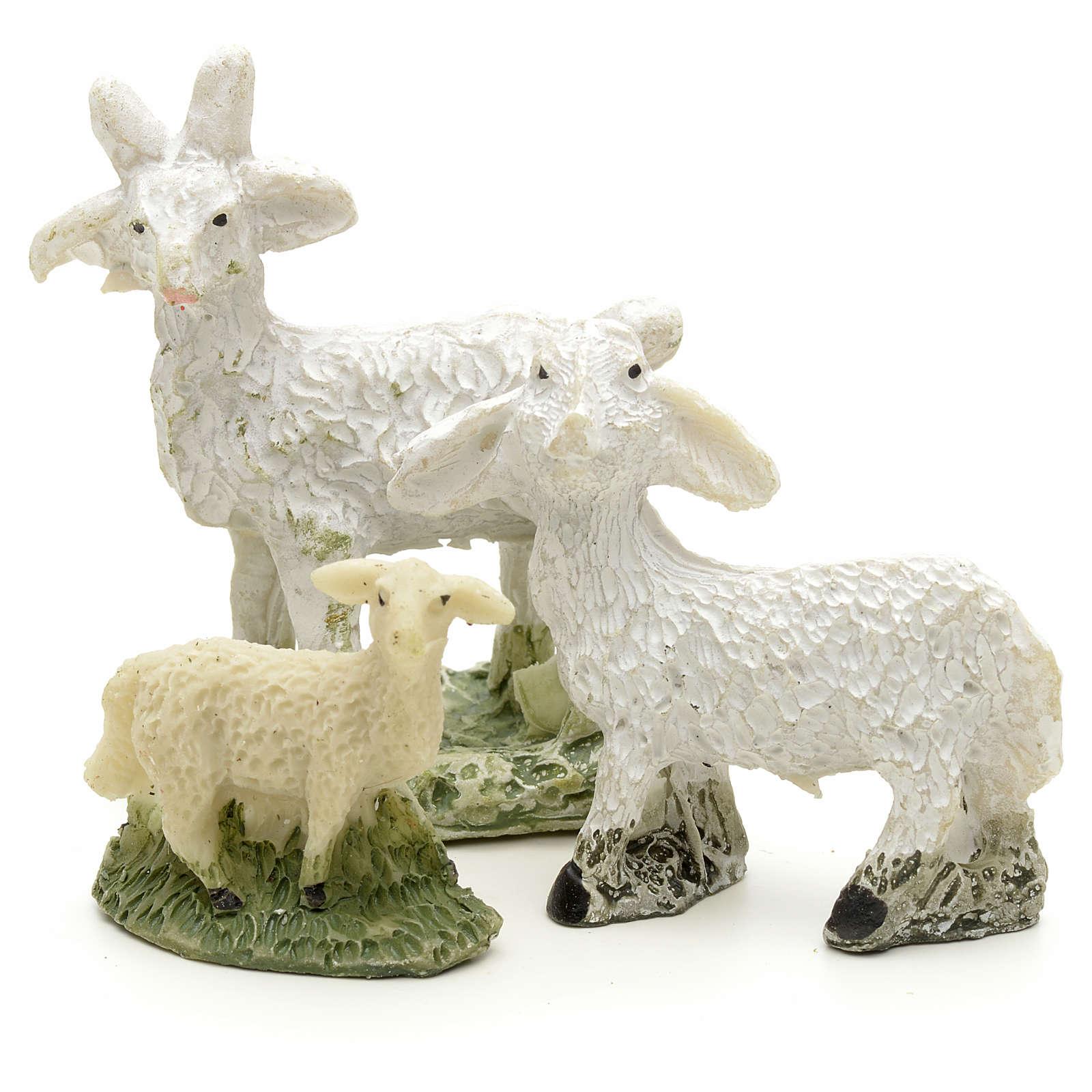 Pecore e capre h 4 cm 3