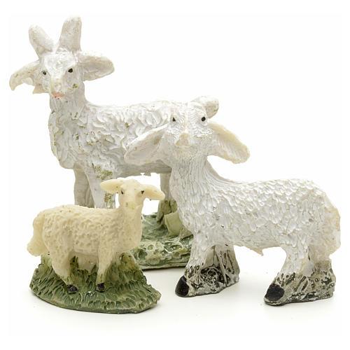 Pecore e capre h 4 cm 1