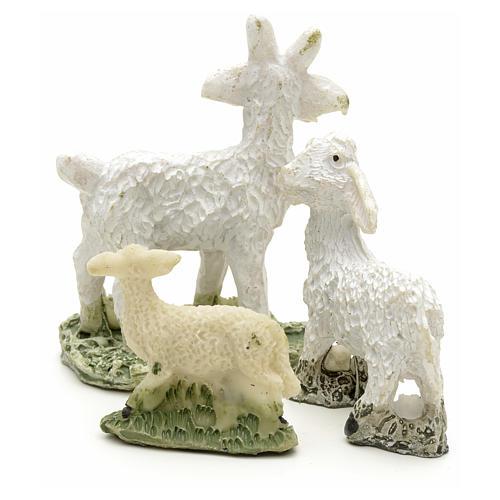 Pecore e capre h 4 cm 2