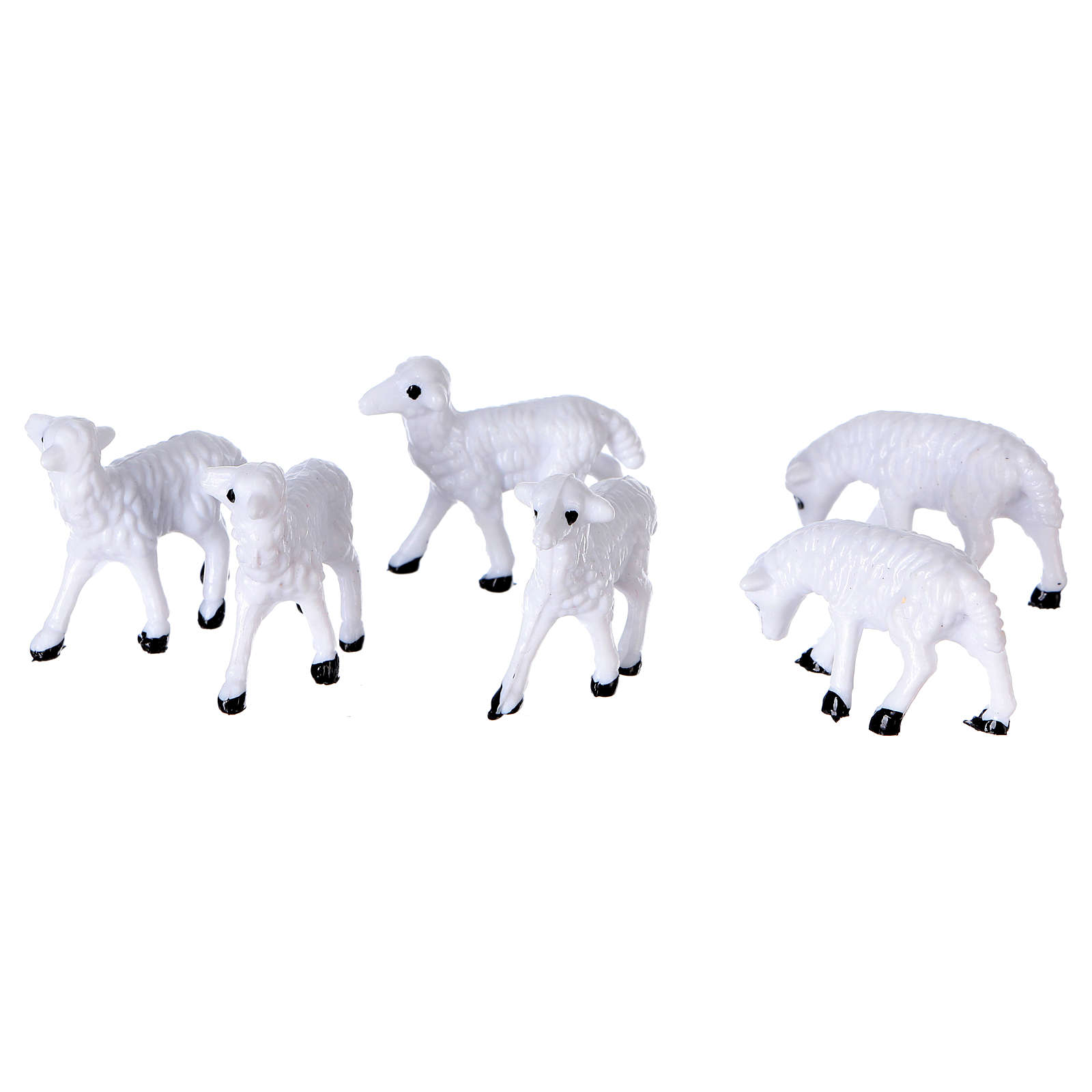Nativity figurines, sheep 8 cm 3