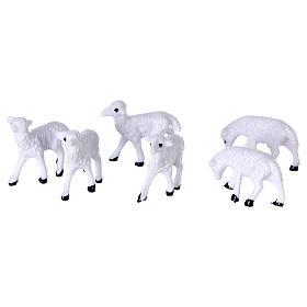 Moutons de 3 cm pour crèche s2