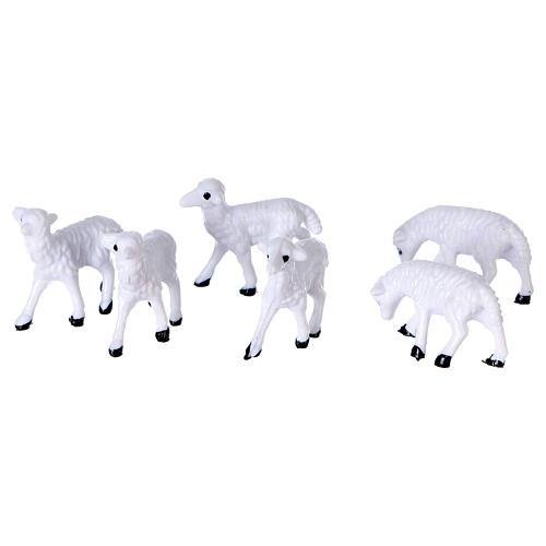 Moutons de 3 cm pour crèche 2