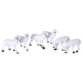 Animali presepe: Pecore da cm 8