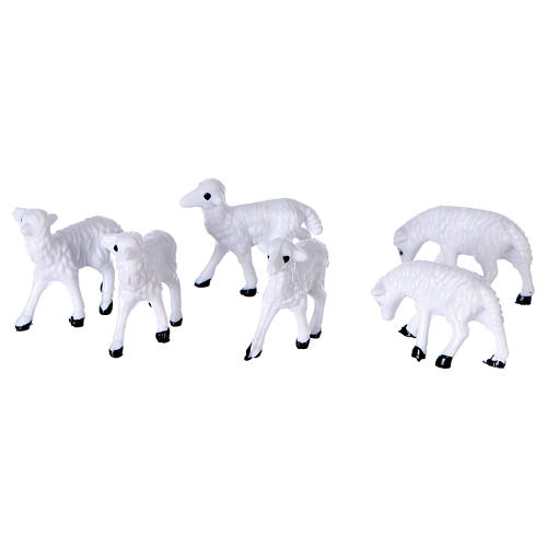 Nativity figurines, sheep 8 cm 2
