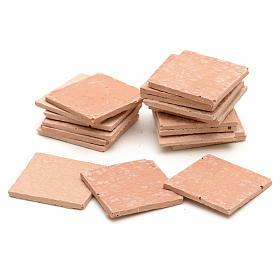 Piastrelle quadrate in resina cm 2,3x2,3 s1